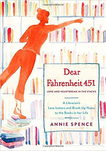 """Dear Farenheit 451"" by Annie Spence"